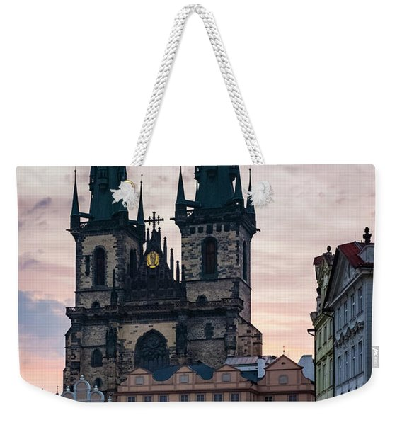 Tyn Cathedral On Old Town Square Weekender Tote Bag