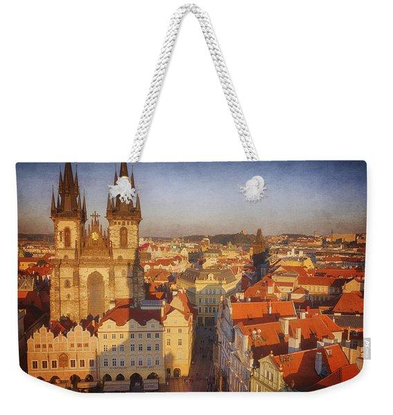 Tyn Church Old Town Square Weekender Tote Bag