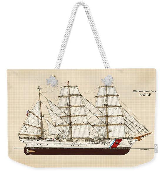 U. S. Coast Guard Cutter Eagle - Color Weekender Tote Bag