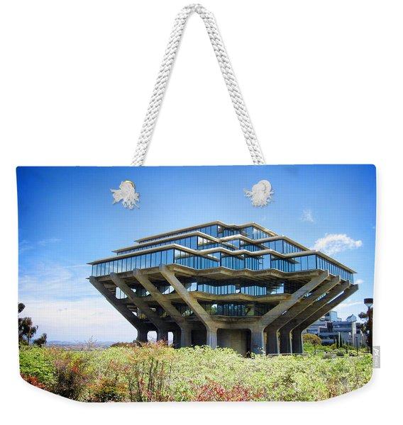 Ucsd Geisel Library Weekender Tote Bag