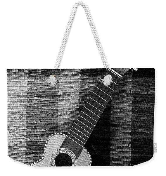 Ukulele Still Life In Black And White Weekender Tote Bag