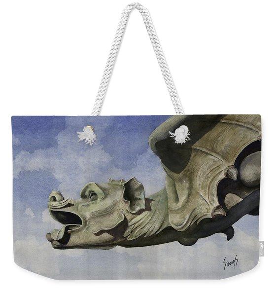 Ulmer Munster Gargoyle Weekender Tote Bag