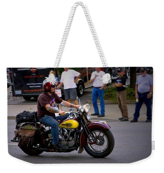 Un-named Crosscountry Harley Weekender Tote Bag