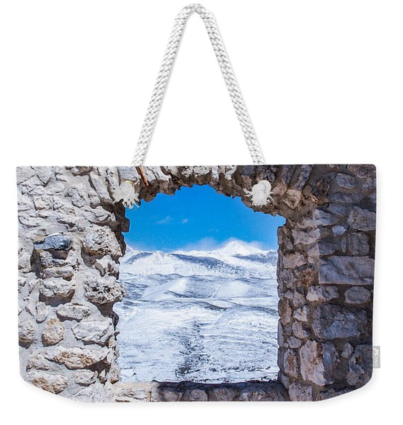 A Window On The World Weekender Tote Bag