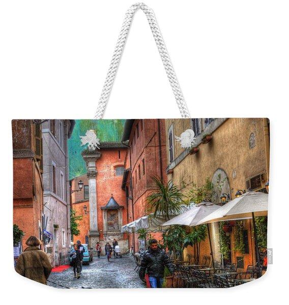Una Notta A Roma Weekender Tote Bag
