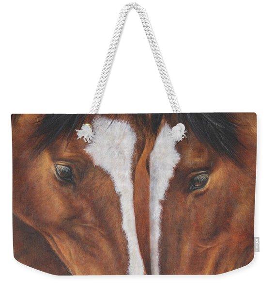 Unbridled Affection Weekender Tote Bag