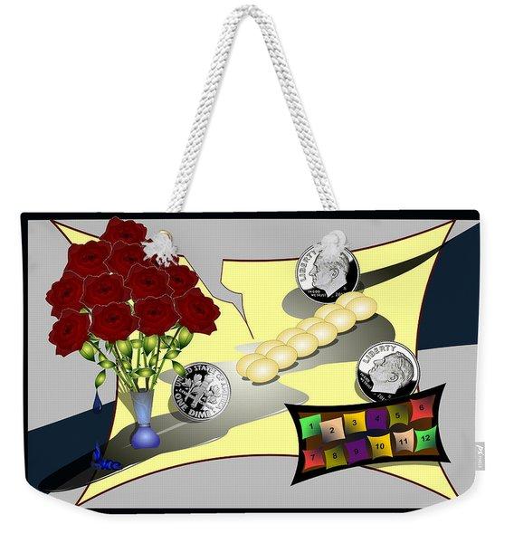 Dime A Dozen Weekender Tote Bag