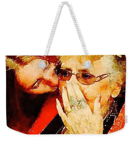 Unconditional Weekender Tote Bag