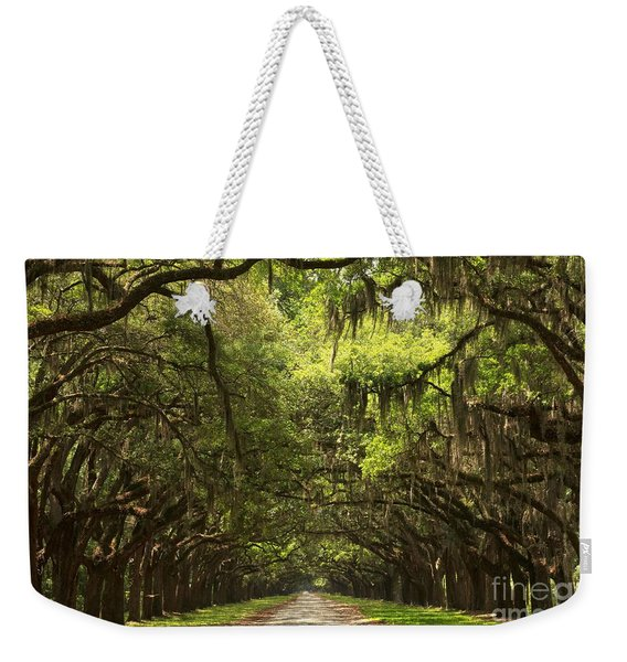Under The Ancient Oaks Weekender Tote Bag