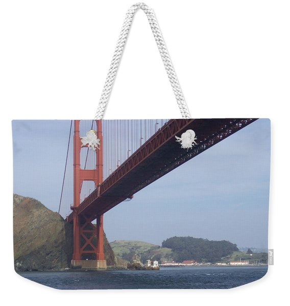 The Golden Gate Bridge San Francisco California Scenic Photography - Ai P. Nilson Weekender Tote Bag