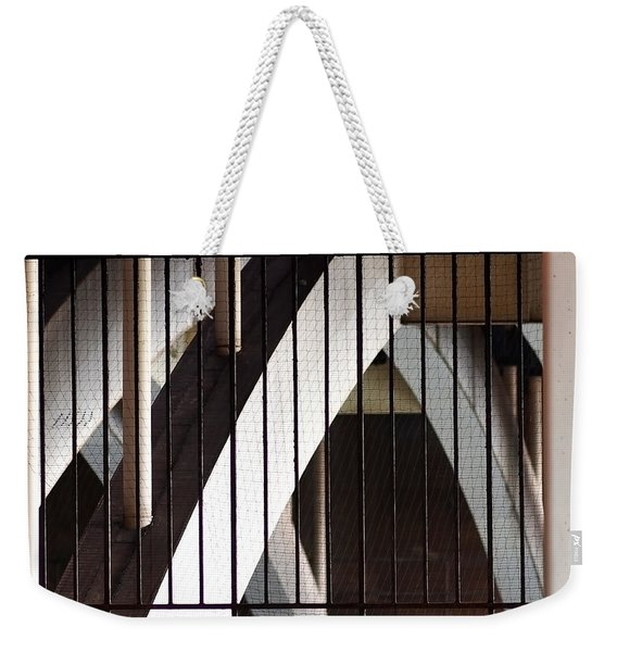 Under The Overground Weekender Tote Bag