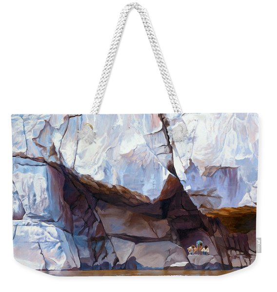 Under The Shadow Of The Almighty Weekender Tote Bag
