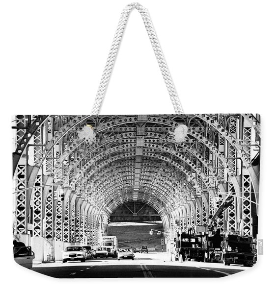 Under The West Side Highway Weekender Tote Bag