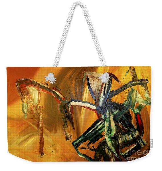 Undergrowth Disturbed Weekender Tote Bag