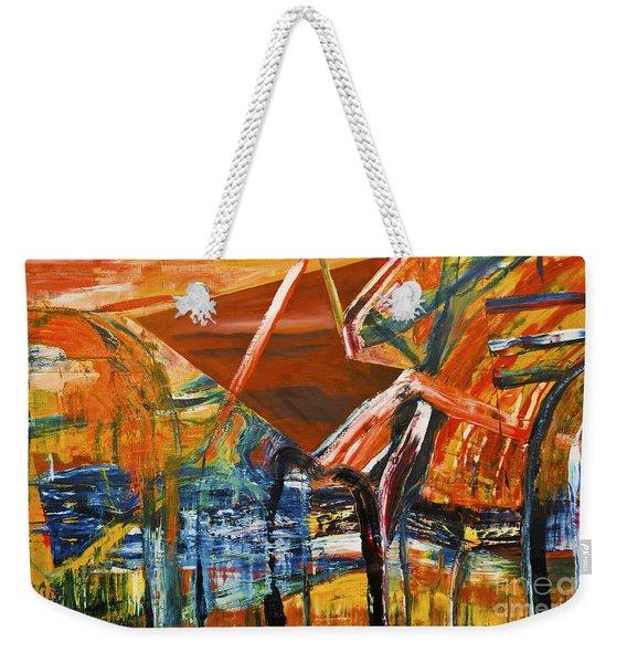 Undergrowth V Weekender Tote Bag
