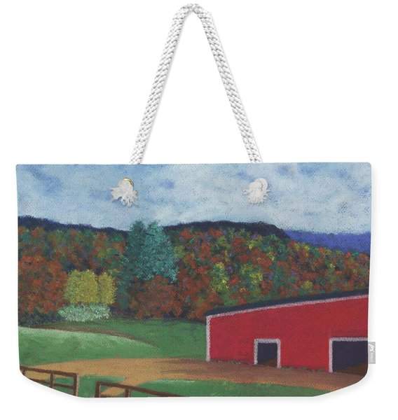 Undermountain Autumn Weekender Tote Bag