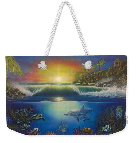 Underwater Paradise Weekender Tote Bag