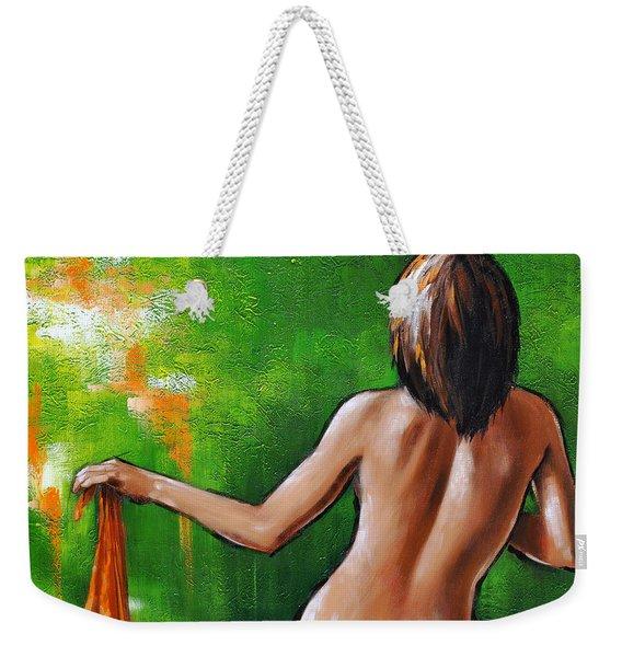 Undressed Weekender Tote Bag