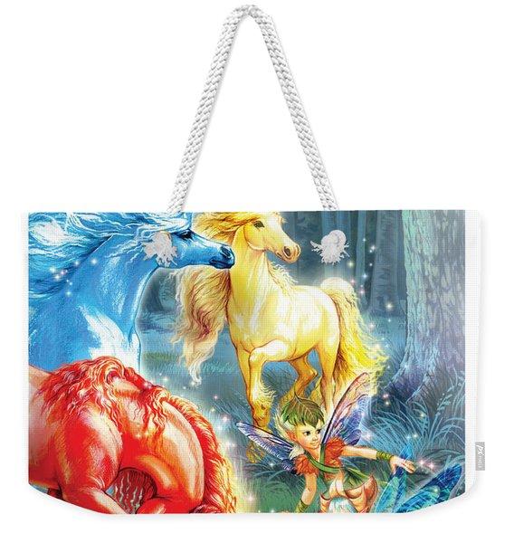 Unicorns And Fairies Weekender Tote Bag