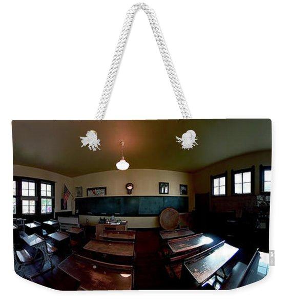 Union  Illinois One Room School House Weekender Tote Bag