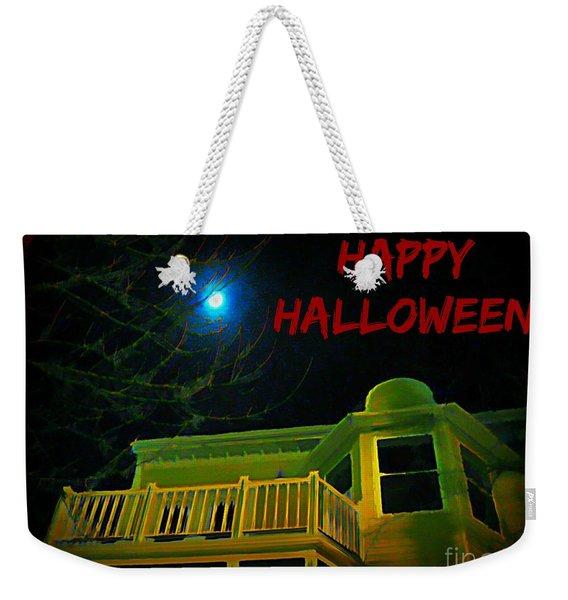Unique Halloween Weekender Tote Bag