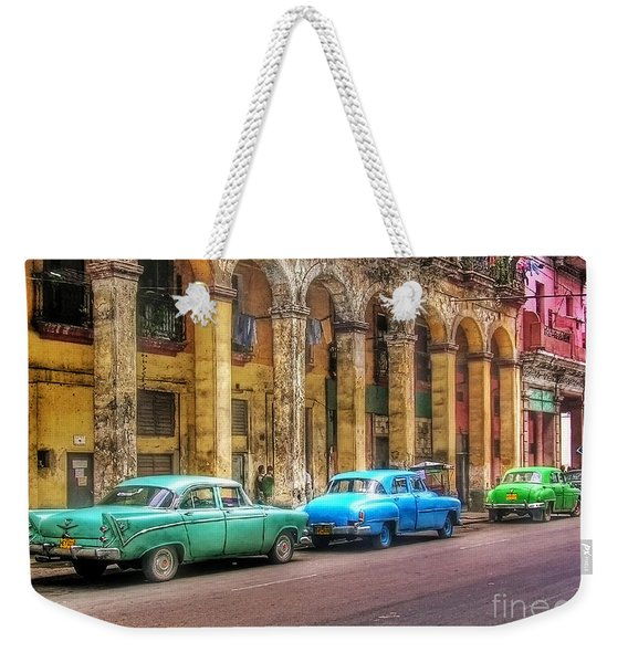 United Colors Of Coches Habaneros Weekender Tote Bag