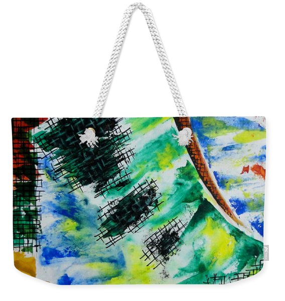 Different Mode Weekender Tote Bag