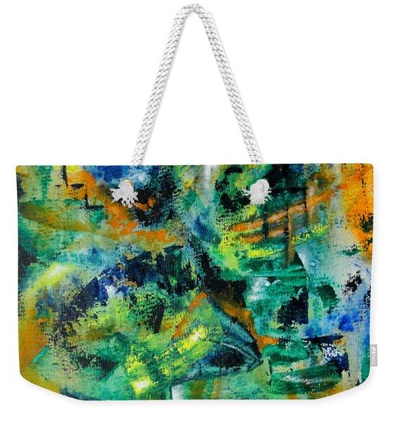 Virtual Weekender Tote Bag