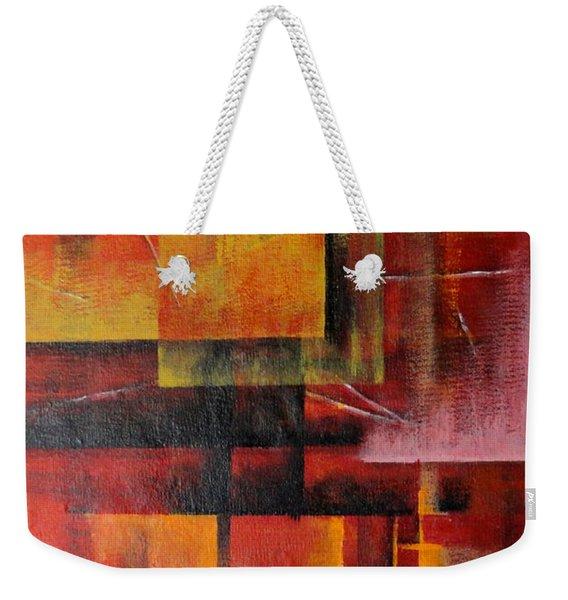 Layer Weekender Tote Bag