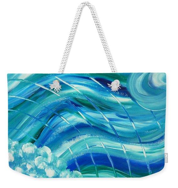 Universal Waves Weekender Tote Bag