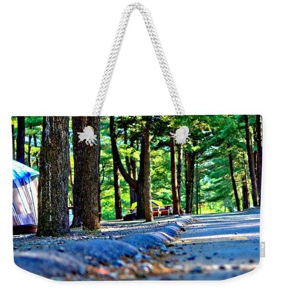 Unknown Destination Weekender Tote Bag
