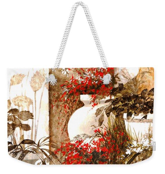 Uno Bianco Weekender Tote Bag
