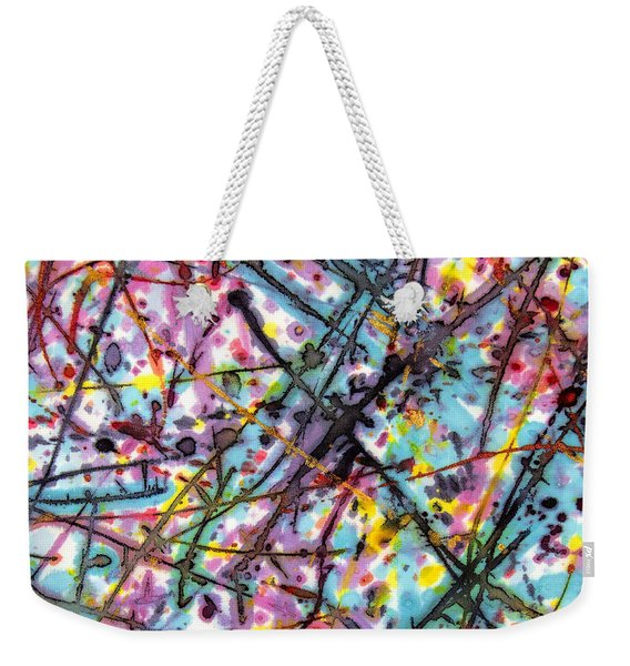 The Mural Goes On And On Weekender Tote Bag