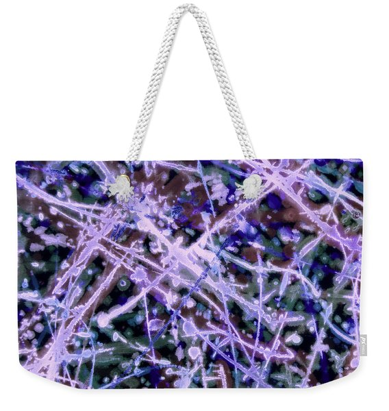 Electric Feel Weekender Tote Bag