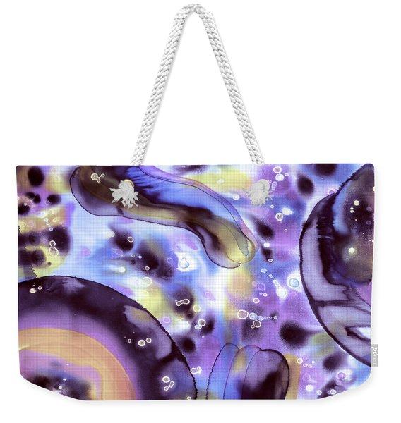 Violet Eyes Weekender Tote Bag