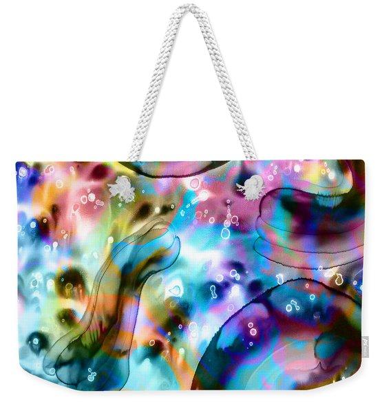 Molecules And Mankind Weekender Tote Bag