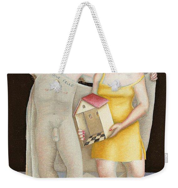 Untitled Study Weekender Tote Bag