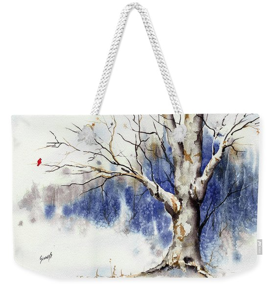 Untitled Winter Tree Weekender Tote Bag