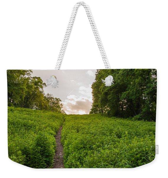 Up Hill Weekender Tote Bag