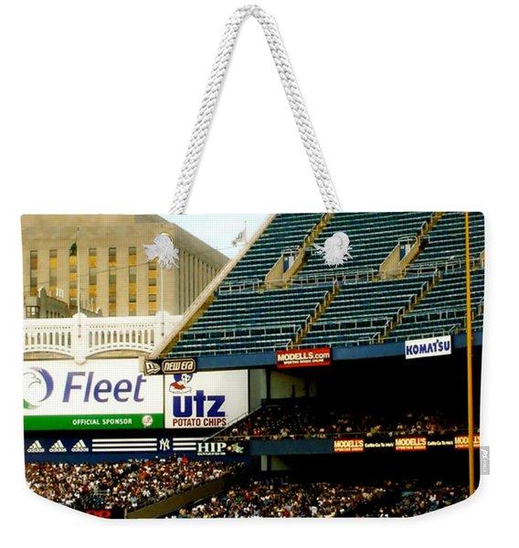 Upper Deck  The Yankee Stadium Weekender Tote Bag