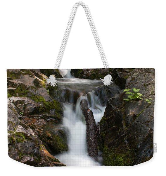 Upper Pup Creek Falls Weekender Tote Bag