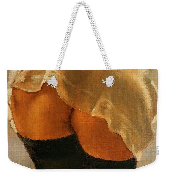 Naughty Butt Nice Weekender Tote Bag