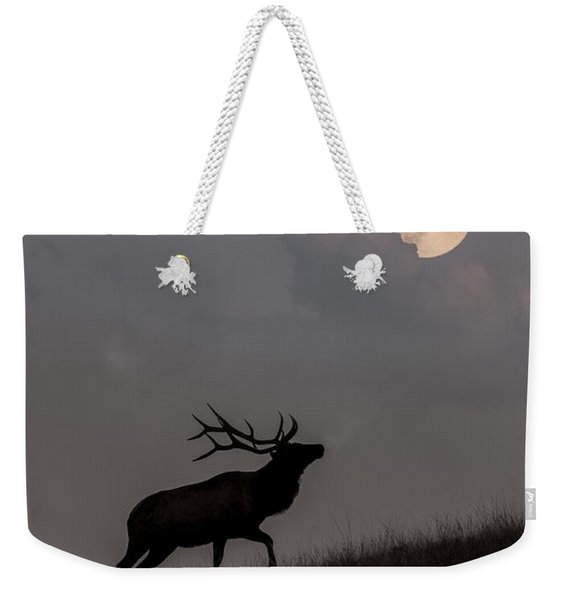 Upwardly Mobile - Yellowstone National Park Weekender Tote Bag