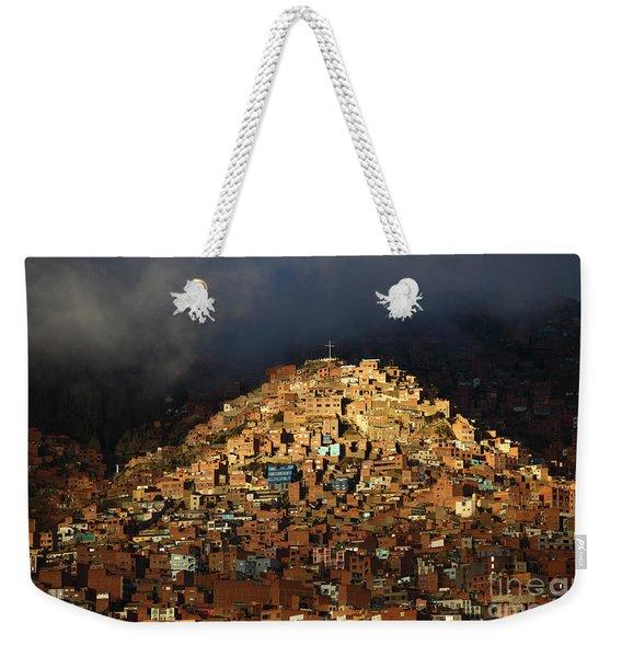 Urban Cross 2 Weekender Tote Bag