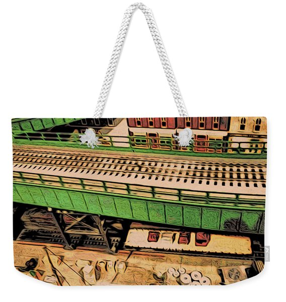 Urban Dock Weekender Tote Bag