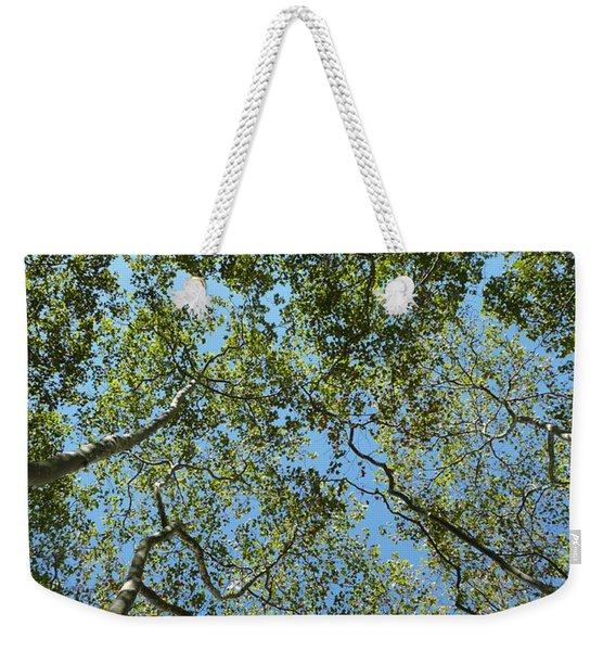 Urban Growth Weekender Tote Bag