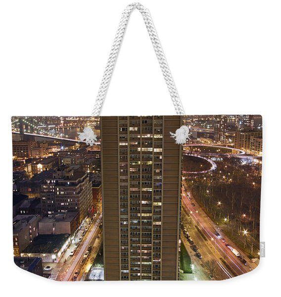 Urban Serenade Weekender Tote Bag