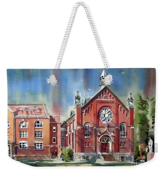 Ursuline Academy With Doves Weekender Tote Bag