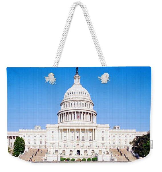 Us Capitol, Washington Dc, District Of Weekender Tote Bag