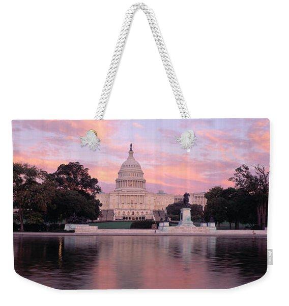 Us Capitol Washington Dc Weekender Tote Bag